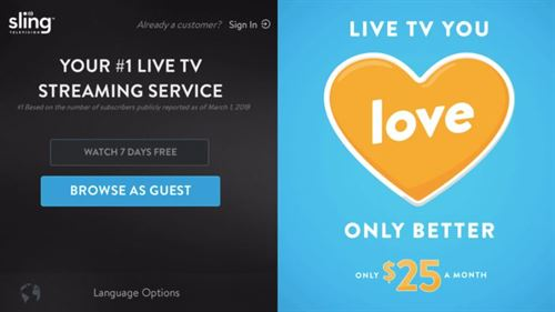 Sling TV rolls out free content to non-subscribers, initially on Roku
