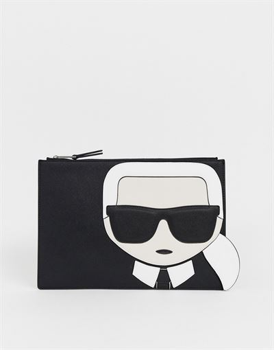 Karl Lagerfeld iconic pouch