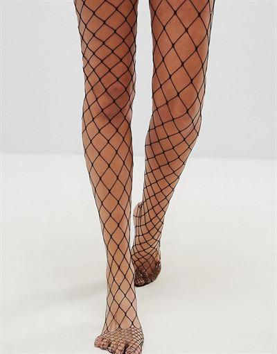 ASOS DESIGN oversized fishnet tights